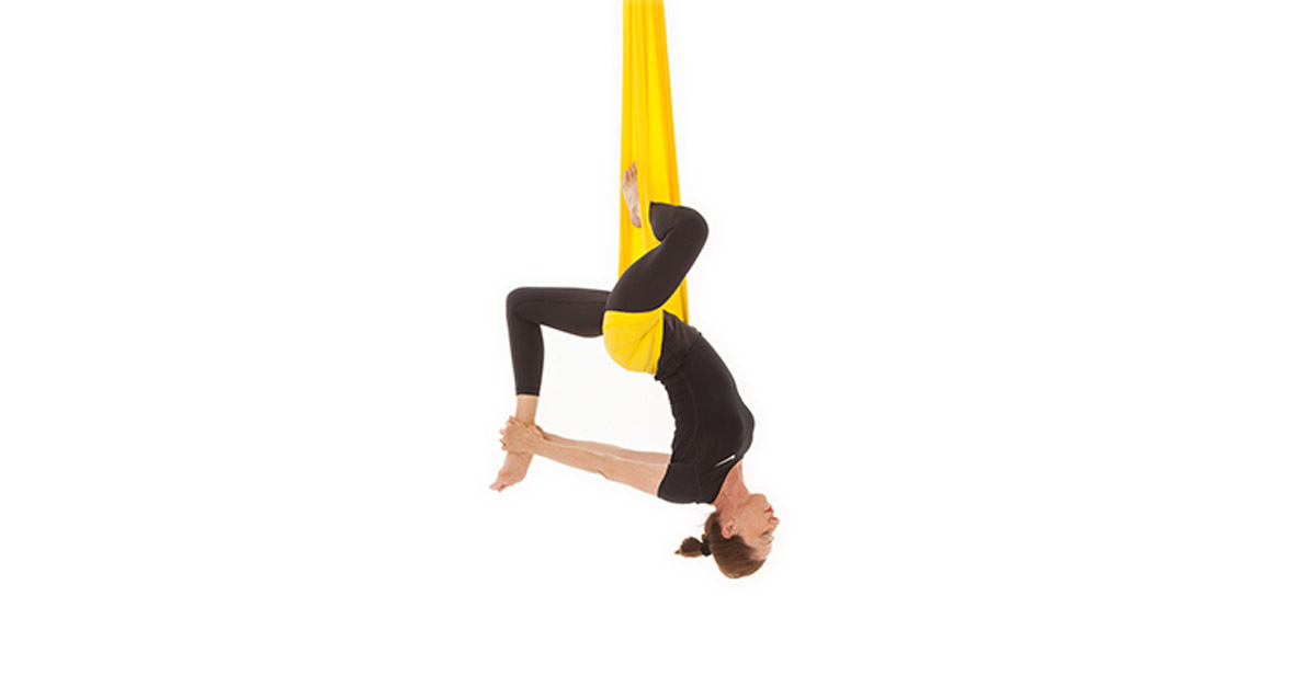 Free Floating Aerial Yoga